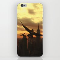 clockwork iPhone & iPod Skins featuring Clockwork by Chase Matheson