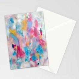 Palette Knife Peeps Stationery Cards