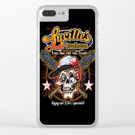 Lucille's Roadhouse Clear iPhone Case