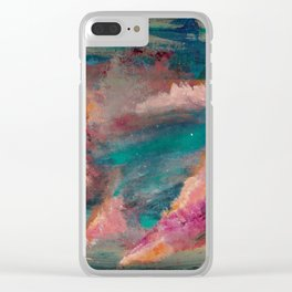 Past is Prologue Clear iPhone Case