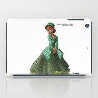 parks and rec iPad Cases featuring Princess Rosa Parks (Trumble Cartoon) by Trumble Art (David Trumble, Cartoonist a