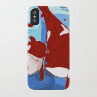 killer whale iPhone & iPod Cases featuring killer whale by Elettra