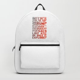 Does It Explode? Backpack
