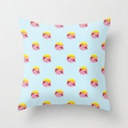 Summer dreams pattern Throw Pillow