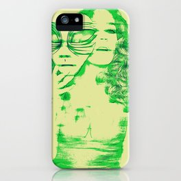Slip of the Mask iPhone Case