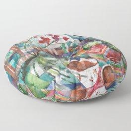Snacks & Supper Floor Pillow