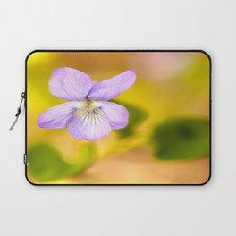 Wildflower Pansy Summer Blossom #decor #society6 #buyart Laptop Sleeve