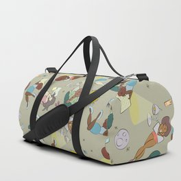 For the love of Books 02 Duffle Bag