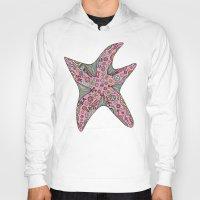 starfish Hoodies featuring Starfish by Planet Hinterland by Carmen Hickson