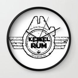 Kessel Rum Wall Clock