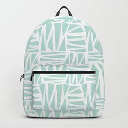 Modern Whimsical Traingles Backpack