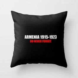 Commemoration Armenia 1915 Throw Pillow