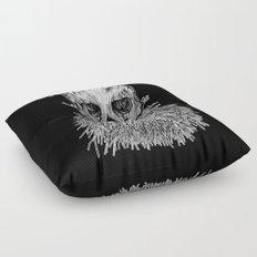 Lumbermancer B/W Floor Pillow