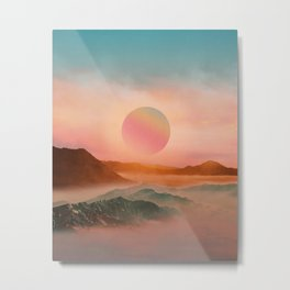 Landscape & Modern graphic 02 Metal Print