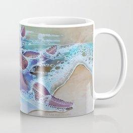 Storm & Starfish by Julie Ann Stricklin Coffee Mug