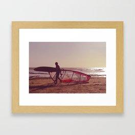 windsurf Framed Art Print