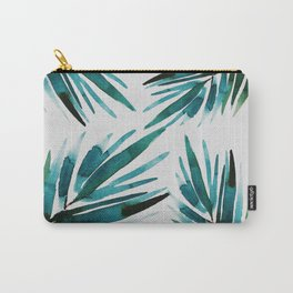 Dark Palm trees Carry-All Pouch