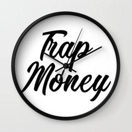 Trap Money Wall Clock