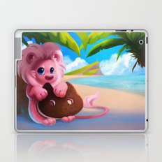 Lion on the Beach Laptop & iPad Skin