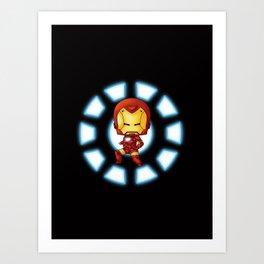 Chibi Ironman Art Print