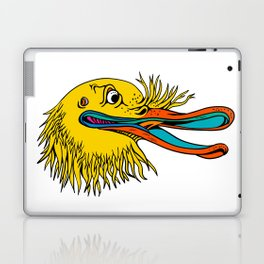Aggressive Kiwi Bird Graffiti Color Laptop & iPad Skin