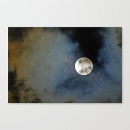 The bright side of the moon Canvas Print