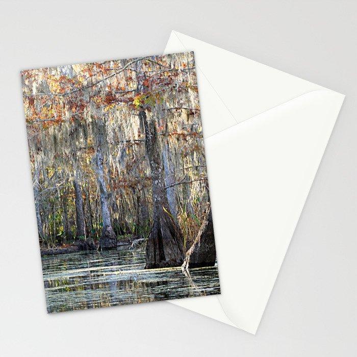 Louisiana Swamp Stationery Cards