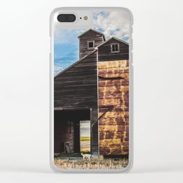 Grain Elevator 6 Clear iPhone Case