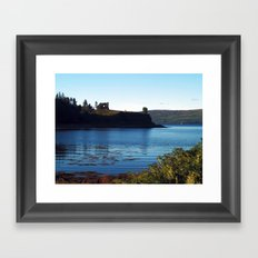 Aros Castle Framed Art Print