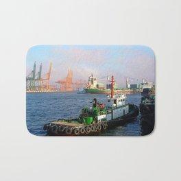 Busan port Bath Mat
