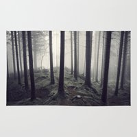 saga Area & Throw Rugs featuring We disappear by River_In_Me