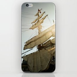 Tall Ship in Boston Harbor iPhone Skin