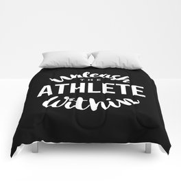 Unleash the athlete within Comforters