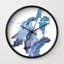 Lactuca Branches Wall Clock