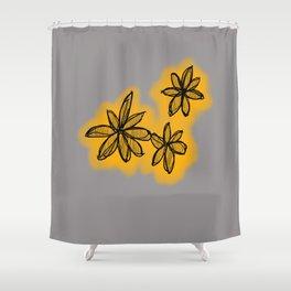Lala flowa Shower Curtain