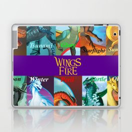 Wings of fire dragon Laptop & iPad Skin