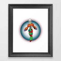 MIGHTY SKULL Framed Art Print