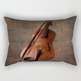 Painting Vintage Violin Rectangular Pillow