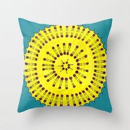 Vesicle Mandala 03 Throw Pillow