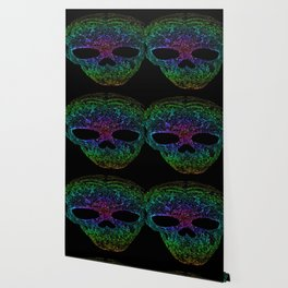 rainbow skull Wallpaper