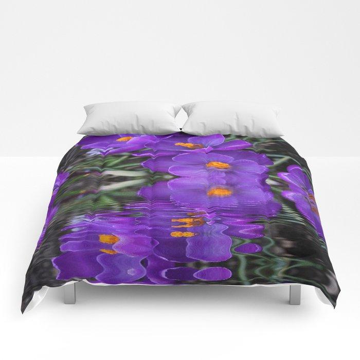 Crocus Reflections Comforters