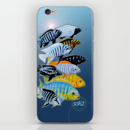 The Rare Mbuna iPhone Skin