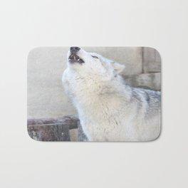 Howling Wolf 3 Bath Mat