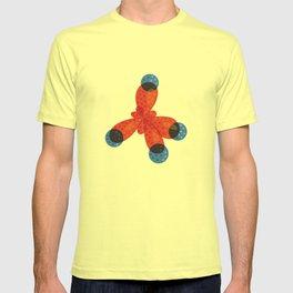 Orange Methane Molecule T-shirt