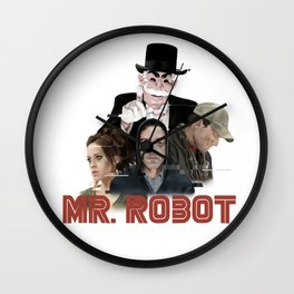 fsociety - Mr. robot Wall Clock