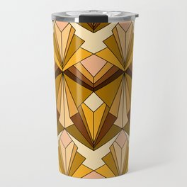 Art Deco meets the 70s Travel Mug