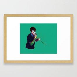 Portrait: GG Framed Art Print