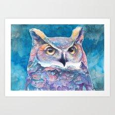 Wandering Owl Art Print