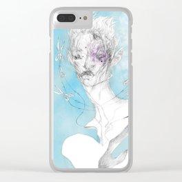 sh3 b@ng Clear iPhone Case