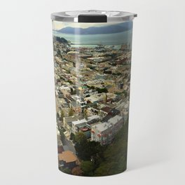 San Francisco from the Coit Tower Travel Mug